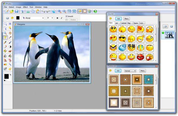 Phần mềm chỉnh sửa ảnh trên máy tính - PhoXo